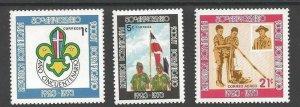 1973 Dominican Republic Boy Scouts 50th anniversary