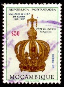 Mozambique 1967 Virgin's Crown, Virgin Mary, Fatima 50c Scott.480 Used (#6)