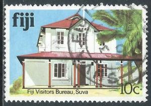Fiji, Sc #414, 10c Used