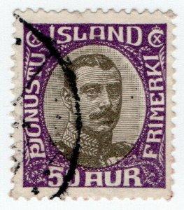 (I.B) Iceland Postal : Official 50au