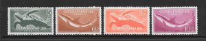 TURTLES - SPANISH GUINEA #335-6,B31-2  SHARK & TURTLE  MNH