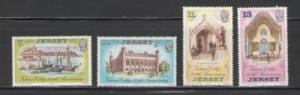 Jersey Sc 179-82 1977 Victoria College stamps NH