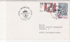 France 1994 Postal Slogan Cancels Against Racism+D.Trouin Stamps Cover Ref 31723