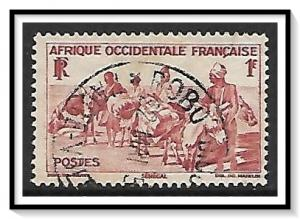 French West Africa #42 Donkey Caravan Used