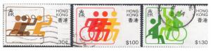 HONG KONG 404-6  3rd East & South Pacific games for Disabled