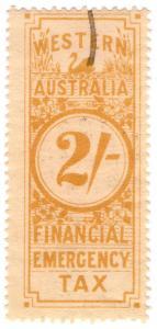 (I.B) Australia - Western Australia Revenue : Financial Emergency Tax 2/-
