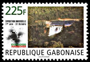 Gabon 971, MNH, Hanover Universal Exposition 2000