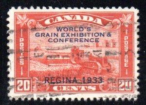 CANADA 203 USED SCV $14.00 BIN $5.60 FARMING