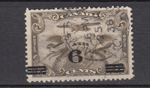 J26459 1932 canada used #c3 airplane ovpt