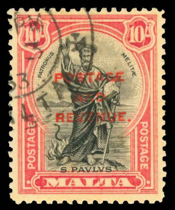 Malta Scott 148-166 Gibbons 174-192 Used Set of Stamps (1)