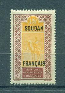 French Sudan sc# 27 mh cat value $.50