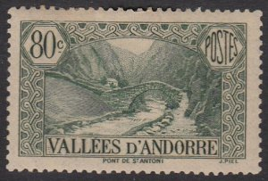 French Andorra 46 MH (see Details) CV $29.00