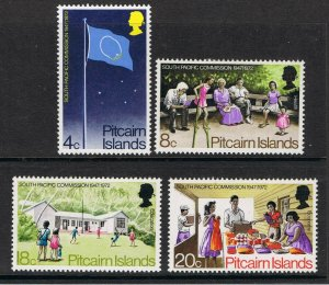 PITCAIRN ISLANDS 1972 SOUTH PACIFIC COMMISSION