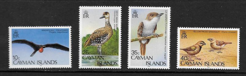 Cayman Is. #551-554  Mint H