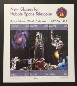 Palau 1998 #453 S/S, Hubble Space Telescope, MNH.