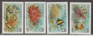 Tuvalu Scott #397-400 Stamps - Mint NH Set