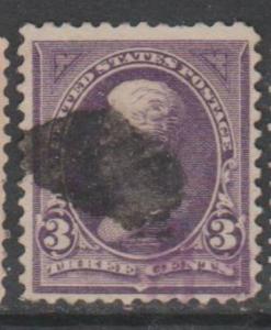 U.S. Scott #268 Jackson Stamp - Used Single