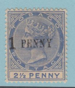 TOBAGO 29 MINT HINGED OG *   FINE  !