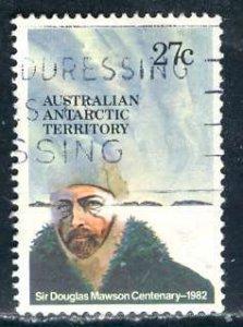 Australian Antartic Terr.; 1982: Sc. # L53: O/Used Single St