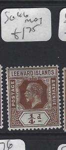 LEEWARD ISLANDS  (P2608BB)  KGV 1/4D  SG 46   MOG