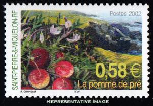 Saint Pierre & Miquelon Scott 736 Mint never hinged.