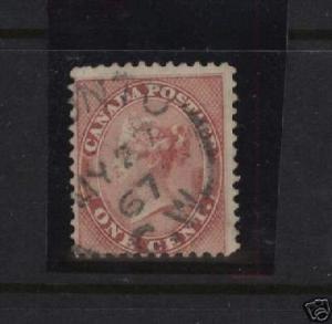 Canada #14 VF Used