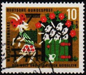 Germany.. 1963 10pf+5pf S.G.1322 Fine Used