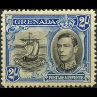 GRENADA 1938 - Scott# 140 Colony Seal 2s LH