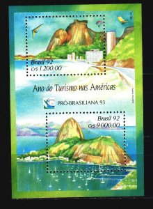Brazil. 1992. bl91. Tourism. MNH.