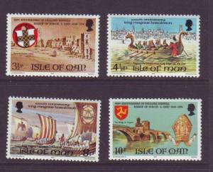 Isle of Man Sc 36-9 1974 Lifeboat stamps mint NH