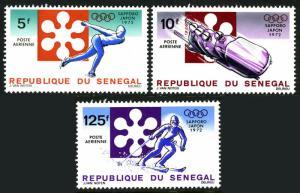 Senegal #C107-C109 MNH Sapporo Olympics CV$4 [192634]