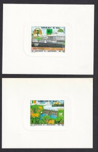 FRANCE MALI DELUXE PROOFS x2 100Fr, 120Fr, INDEPENDENCE #15