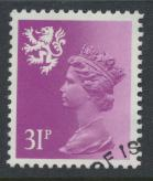 Scotland SG S51 SC# SMH52 Used  with first day cancel 31p Machin