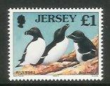 Jersey - 1997 Seabirds and Waders (£1 Razorbill) (MNH)