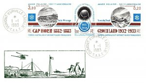 1983 French Southern & Antarctic Territory, Antarctic Cachet and/or Cancel  #104