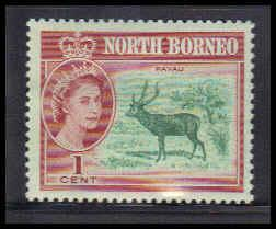 North Borneo Very Fine MMH ZA4536