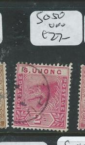 MALAYA SUNGEI UJONG (P0610B) TIGER 2C  SG 50  VFU