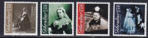 Gibraltar # 860-863, Queen Victoria, NH, 1/2 Cat
