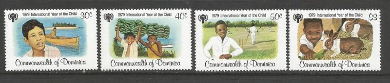 DOMINICA 613-16 MNH IYC Z2049