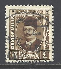 Egypt 133 used wm 195 (DT)