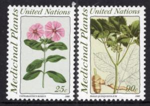 UN New York 575-576 MNH VF