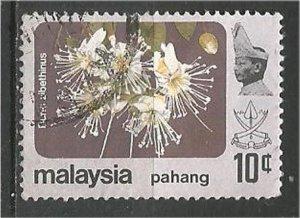 PAHANG, 1979, used 10c, Flower Scott 108