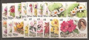 Niue  SC 317-34 Mint Never Hinged
