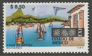 MEXICO 1980, $8.50 Tourism Mexico, Valle de Bravo. Mint, Never Hinged F-VF.