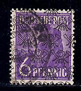 Germany Deutsche Post Scott # 618, used, variation