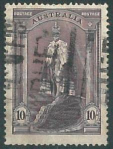 70230a - AUSTRALIA - STAMP: Stanley Gibbons # 172  - Finely Used
