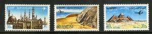 EGYPT C146-C148 MNH SCV $11.25 BIN $5.75 BUILDINGS