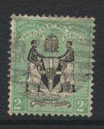 Nyasaland (British Central Africa) BCA SG 22 Used no wmk