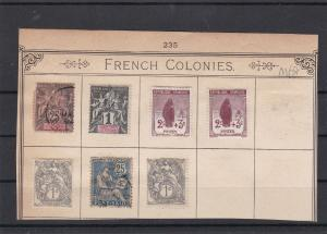 France Colonies + War Orphans Stamps Ref 31610
