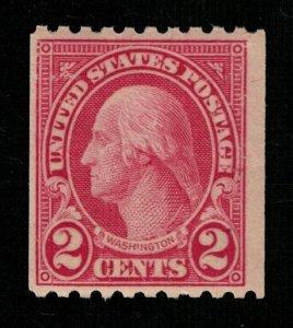 USA 1923 George Washington, Rotary MNH 2c (TS-278)